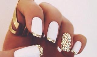 Crispy White Glitter 1