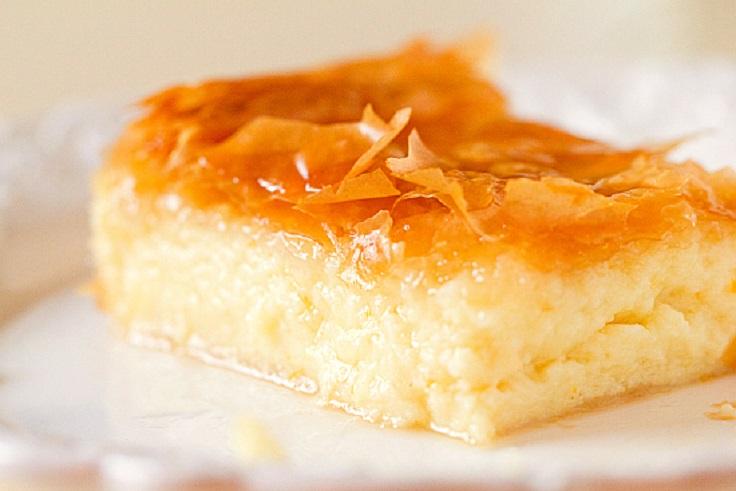 Galaktoboureko-Milk-Pie