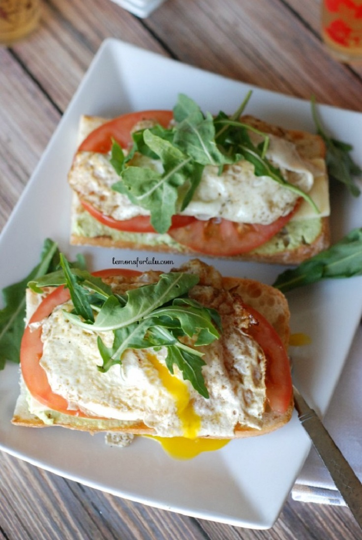 Open-Faced-Fried-Egg-Sandwich-with-Edamame