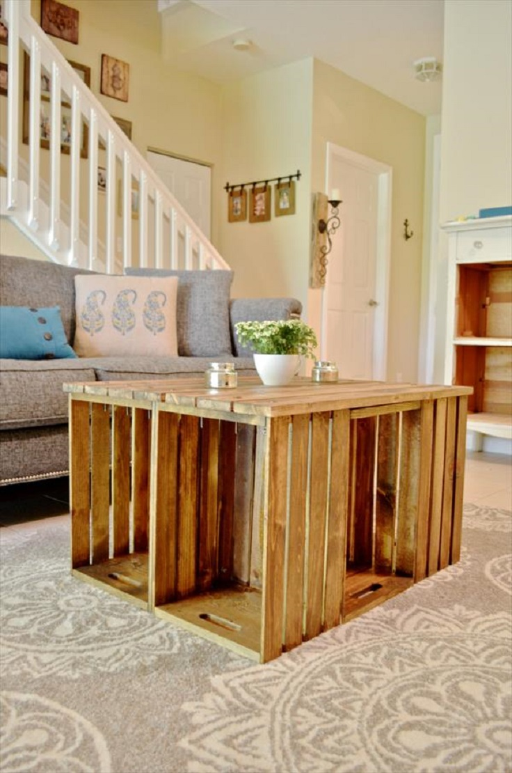 Top 10 diy creative coffee tables top inspired for Creative table tops