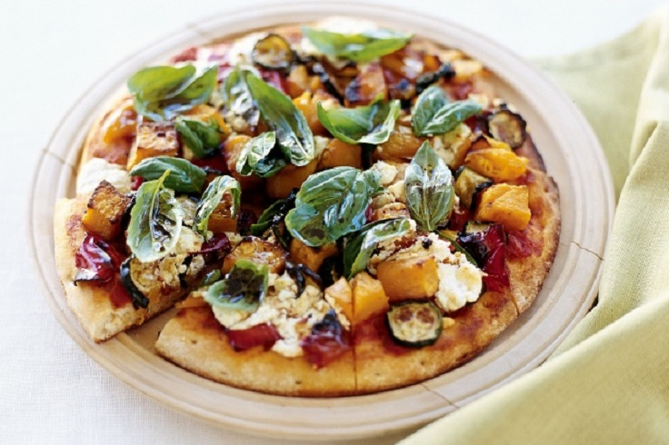 Roasted-Vegetable-Feta-Pizza