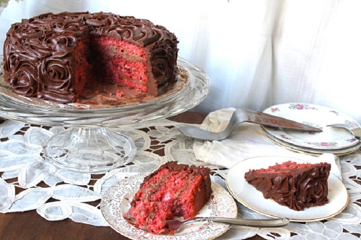 Triple-Chocolate-Cherry-Cake