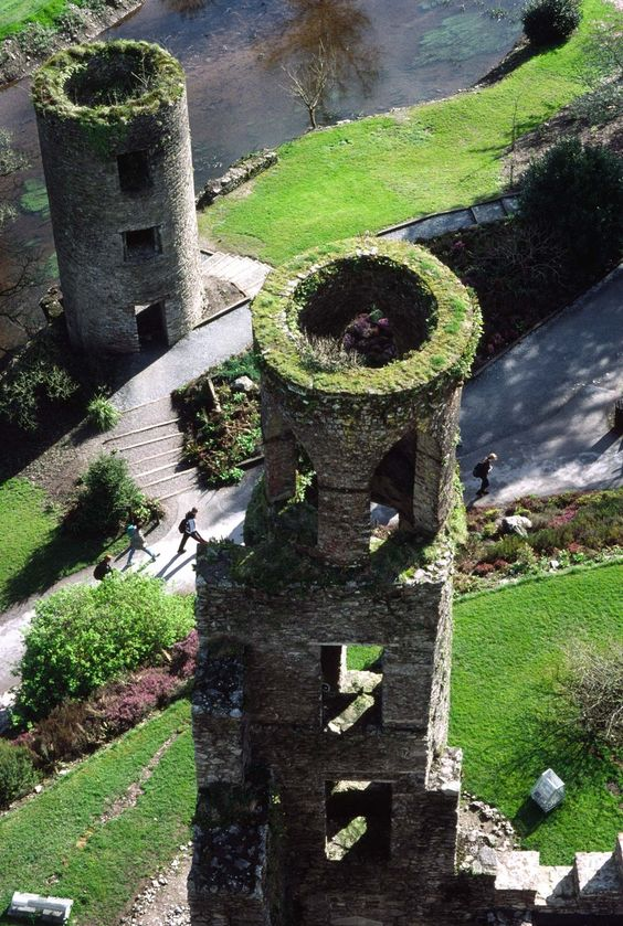 Two-Towers-at-Blarney-Castle-Cork-Ireland-
