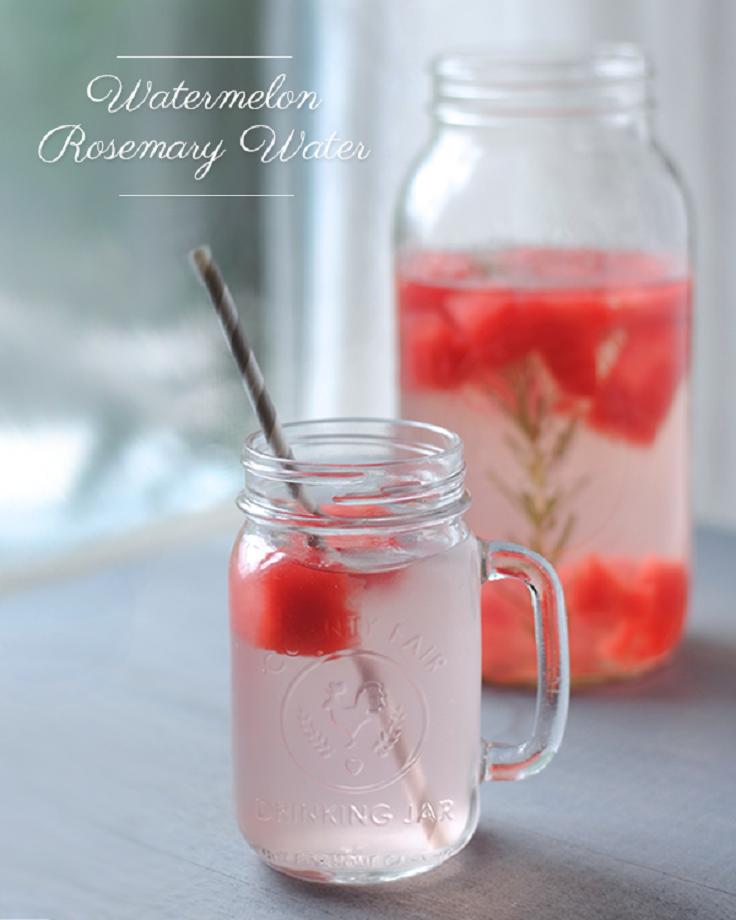 Watermelon-Rosemary-Water