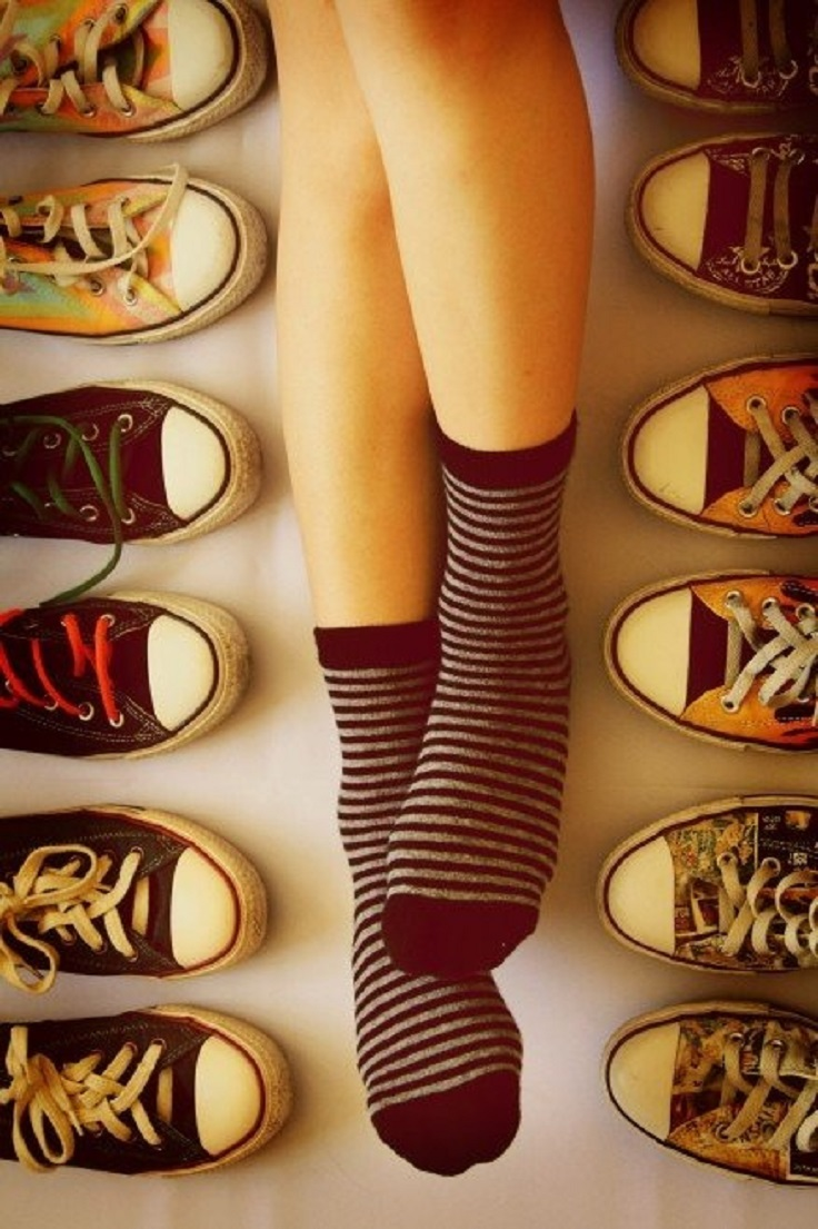 Top 10 DIY Makeovers For Your Old Converse | Top Inspired