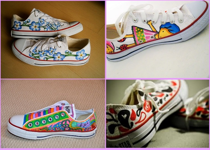 Diy Painted Converse Shoes
