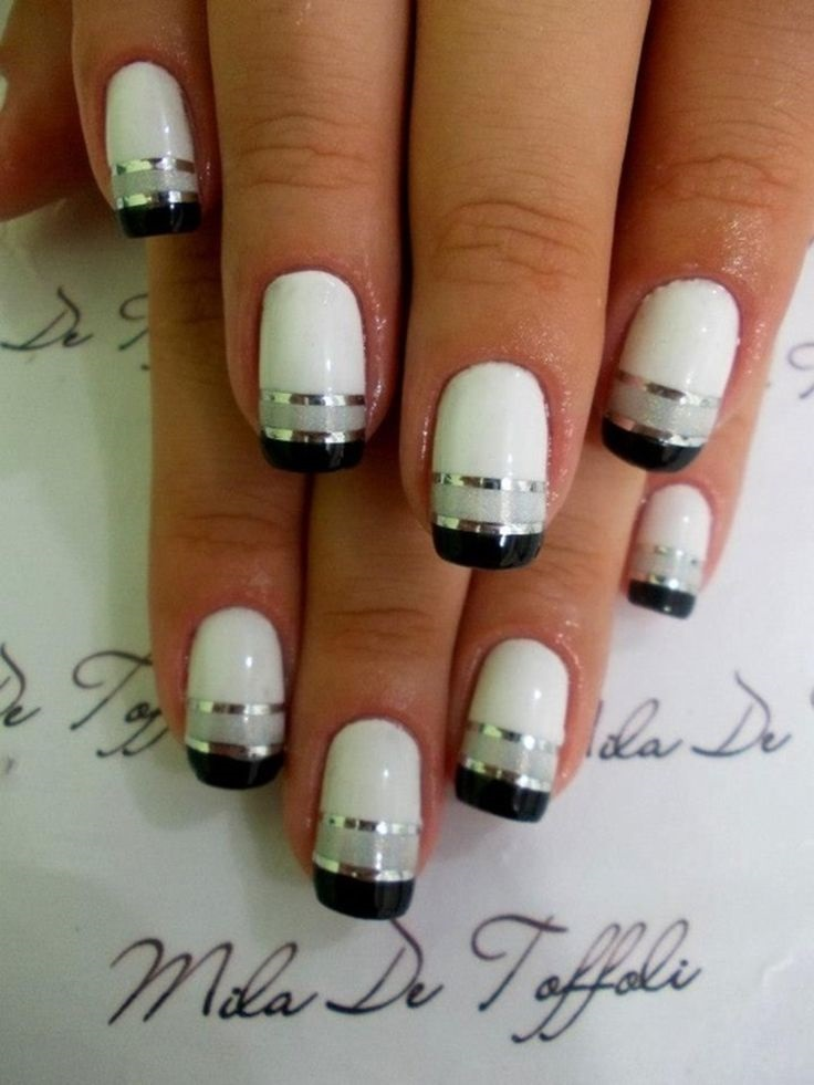white-gray-and-black-nails-7