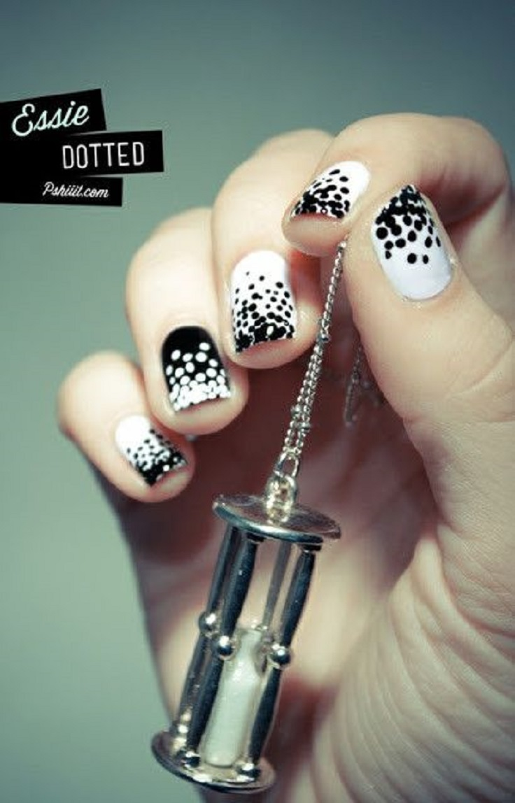 white-nails-with-polka-dots-9