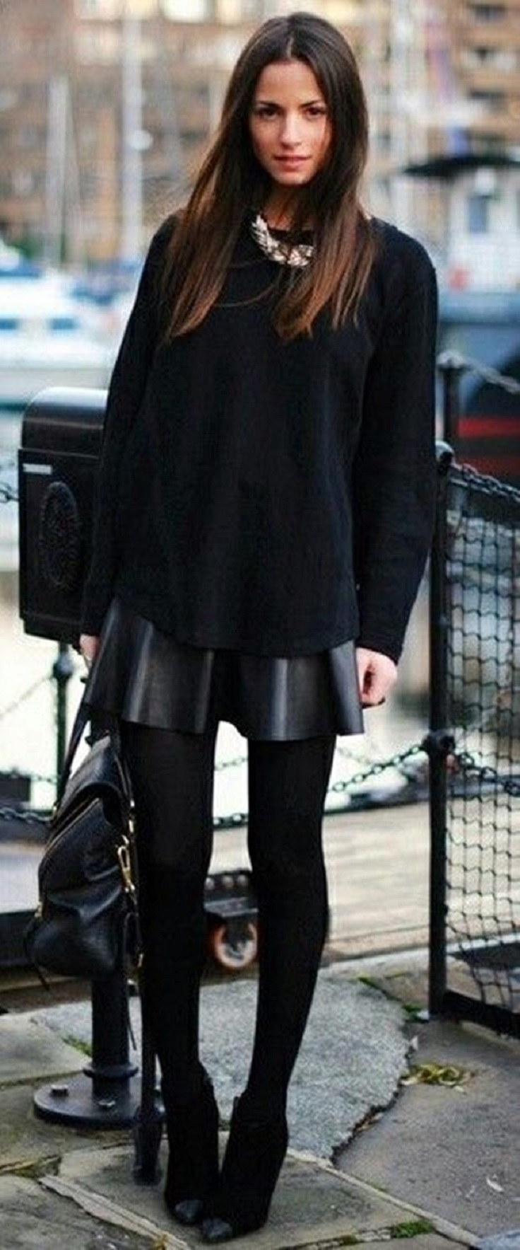 Top 10 Totally Trendy Ways to Wear Leather Shorts and ...