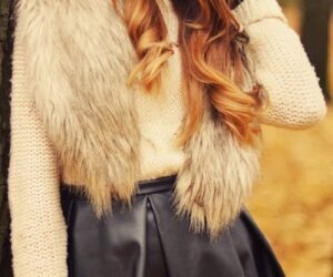 Top 10 Totally Trendy Ways to Wear Leather Shorts and Skirts in Autumn