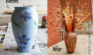 Top 10 Simple DIY and Recycling Old Vase Projects | Top Inspired