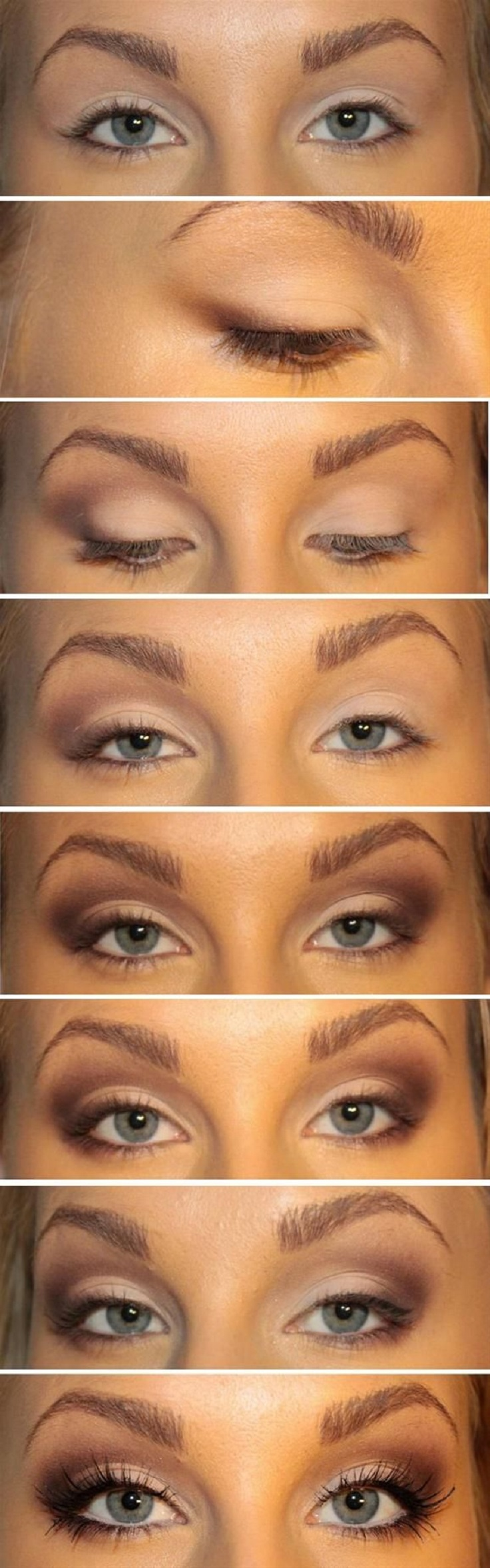 Top 10 Fall Brown Smoky Eye Tutorials Top Inspired