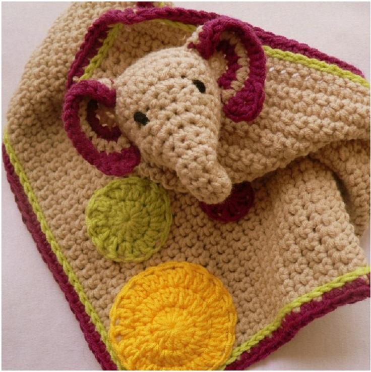 Crochet-Elephant-Lovie