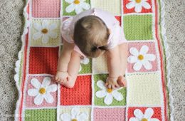 Top 10 Free Crochet Afghan Baby Blanket Pattern | Top Inspired
