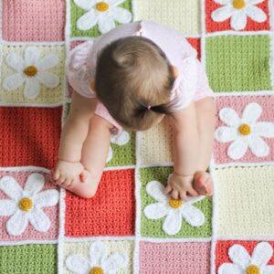 Top 10 Free Crochet Afghan Baby Blanket Pattern | Top Inspired