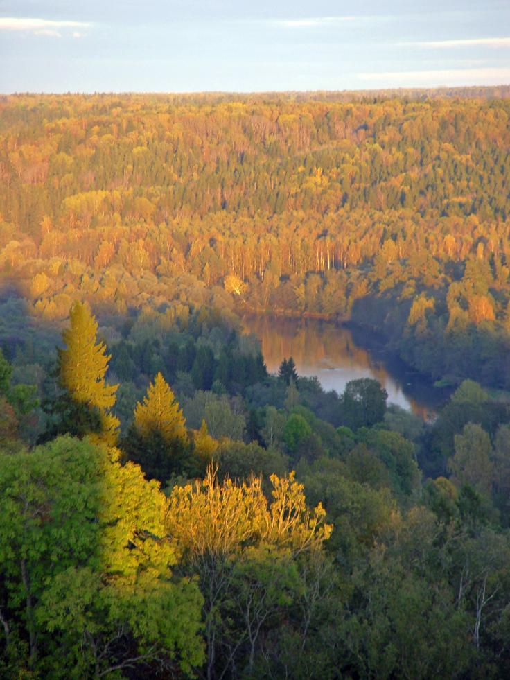 Gauja-valley-Latvia