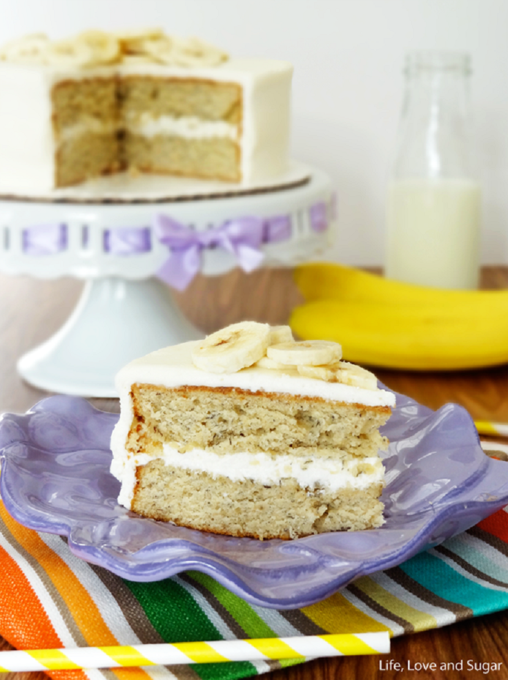 Soft-and-Moist-Banana-Cake