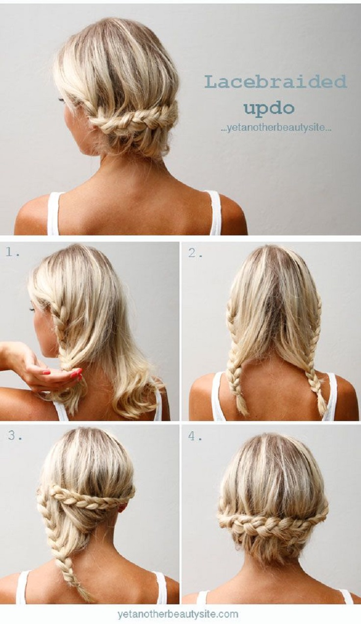 Miraculous Top 10 Messy Braided Hairstyle Tutorials To Be Stylish This Fall Short Hairstyles For Black Women Fulllsitofus