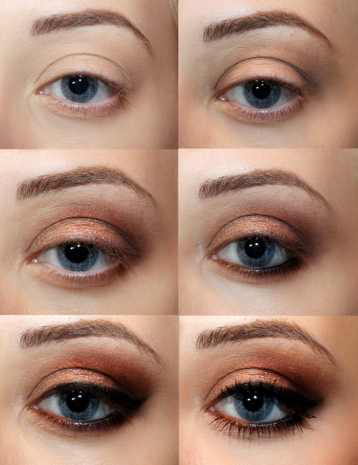 Smokey Eye Makeup: Top 10 Fall Brown Smoky Eye Tutorials