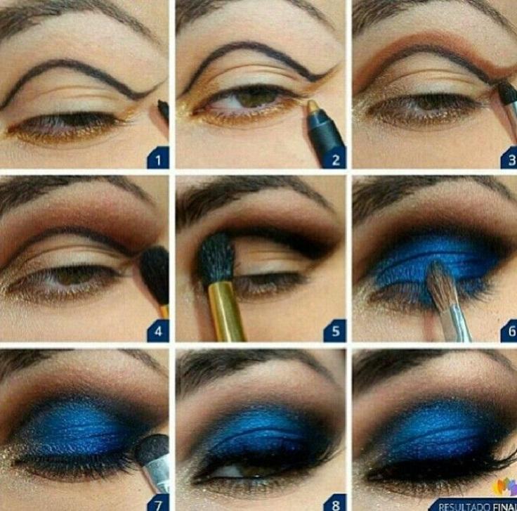 royal-blue-makeup