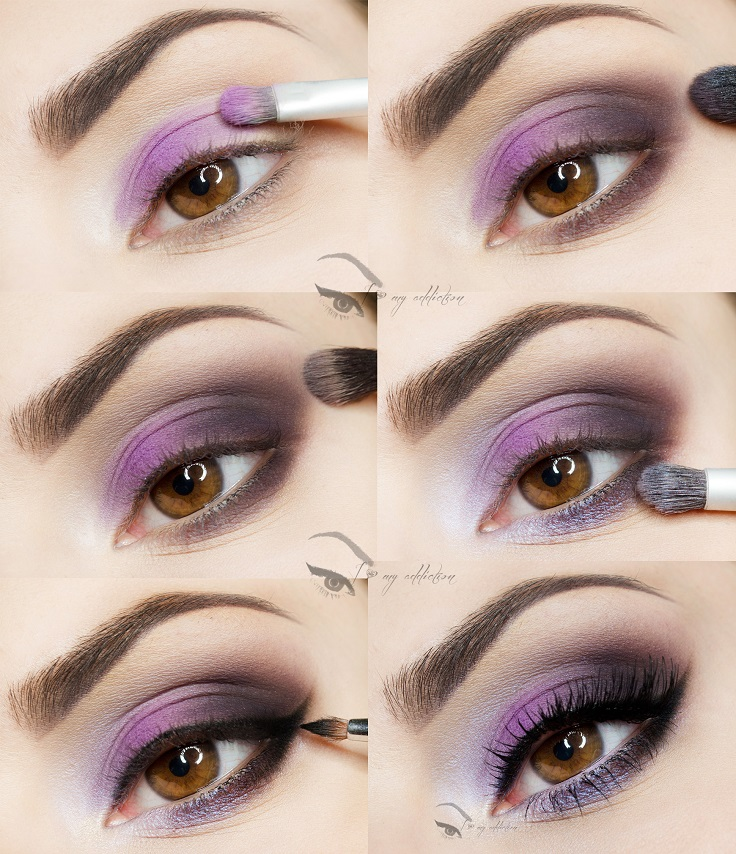 Top 10 Gorgeous Night Eye Makeup Tutorials - Top Inspired