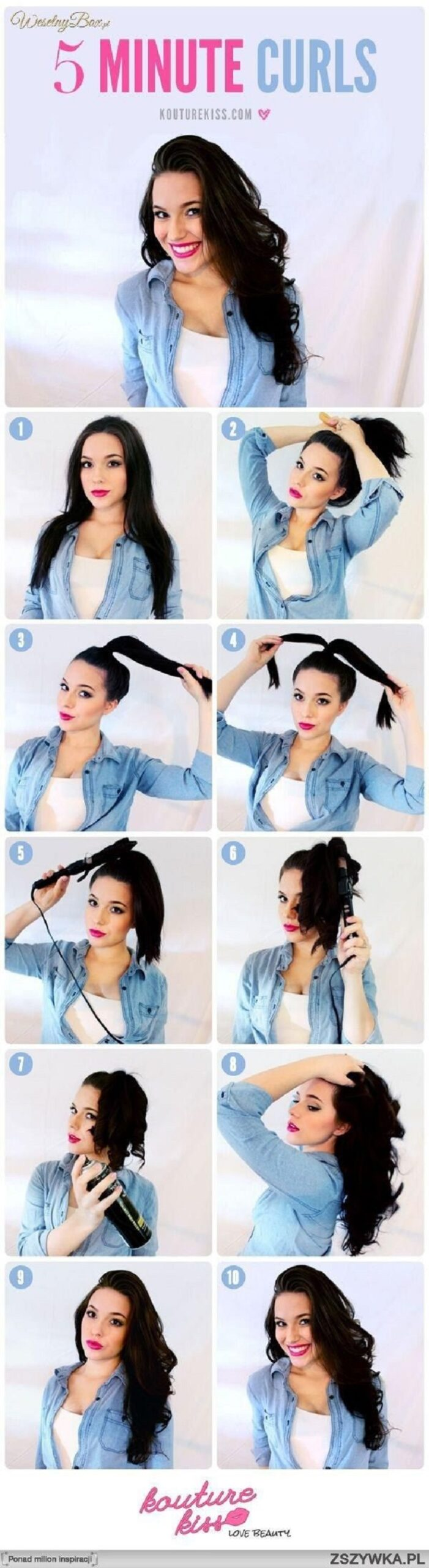 Top 10 Super Easy 5-Minute Hairstyles For Busy Ladies | Top Inspired