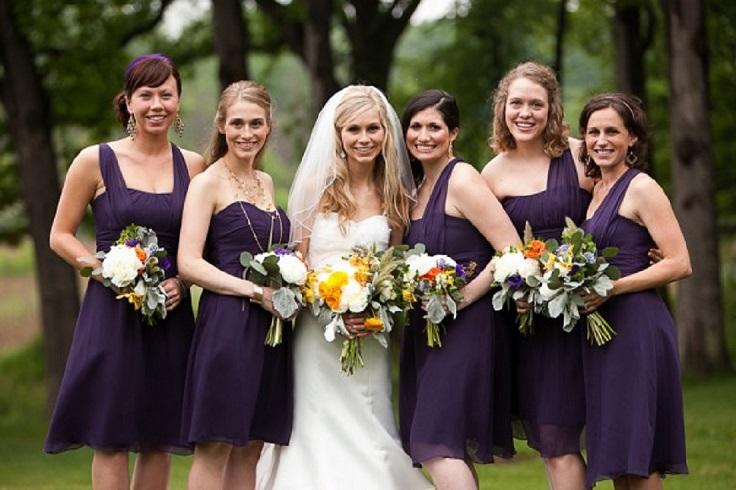 Acai-Colored-Knee-Bridesmaid-Dresses1
