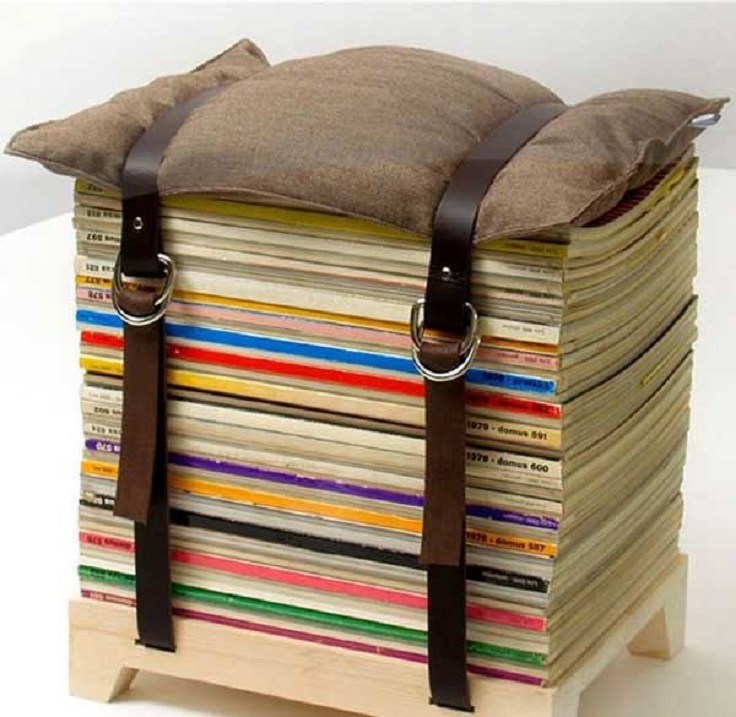 Chair-made-from-books
