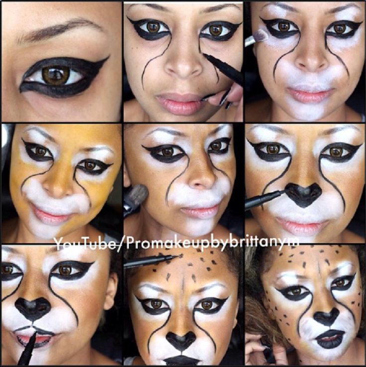 Cheetah-Makeup