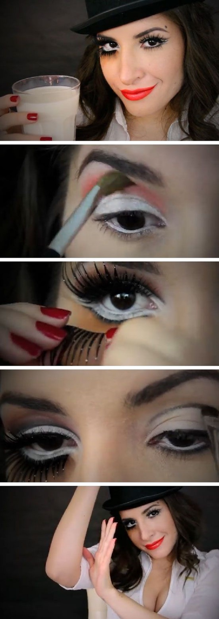 Top 10 Last Minute Makeup Tutorials For Halloween - Top Inspired