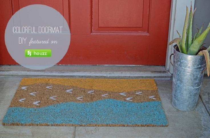 Colorful-Doormat-DIY