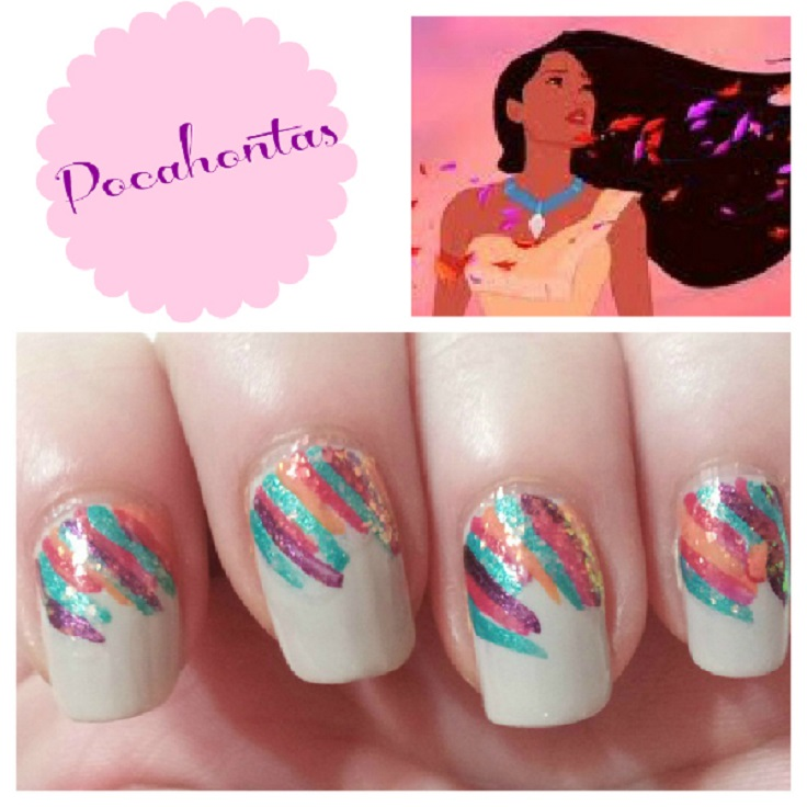 Mulan Inspired Nails: Top 10 Nail Art Ideas Inspired By Disney Princesses