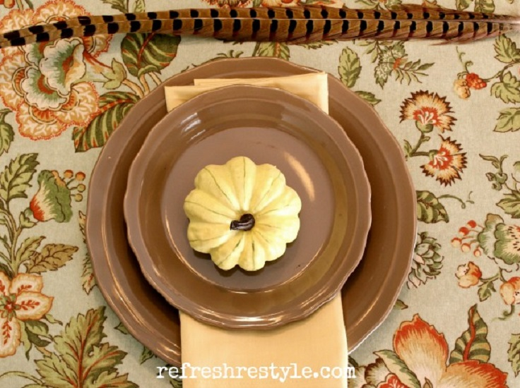 Pumpkin-Place-Setting