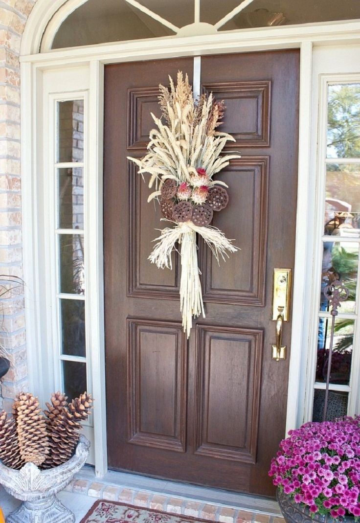 Top 10 Amazing Diy Fall Door Decorations Top Inspired