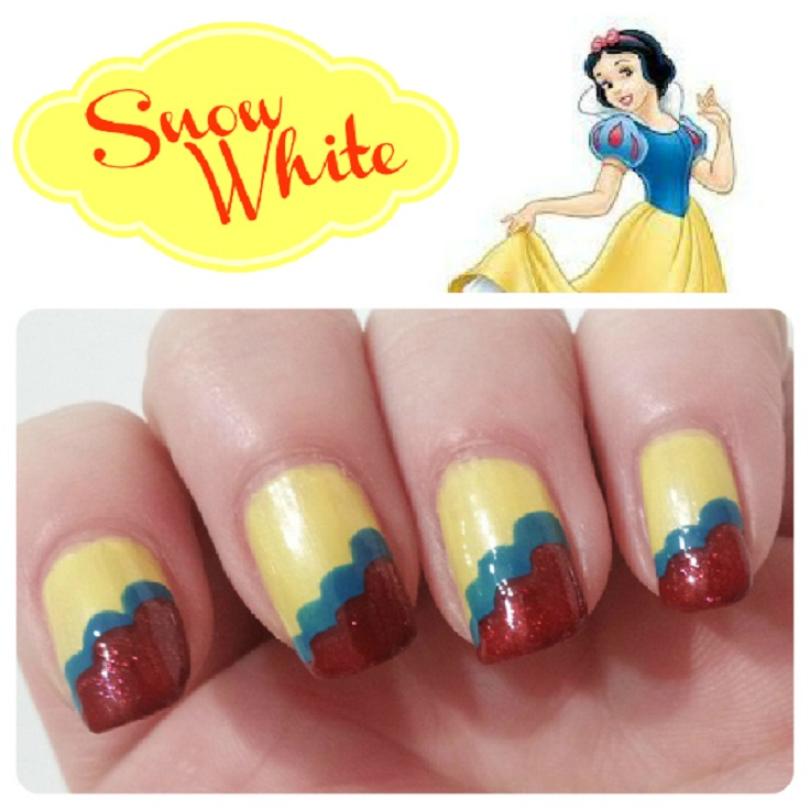 Disney Princess Nail Art: Top 10 Nail Art Ideas Inspired By Disney Princesses