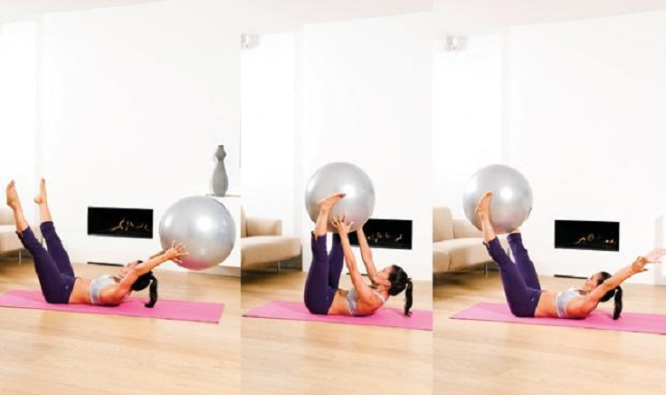 Swiss-Ball-Exercise
