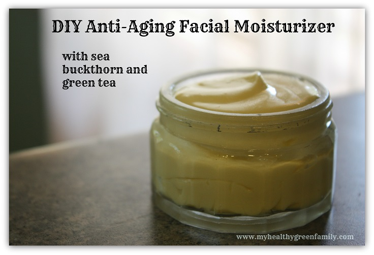 Make Your Own Natural Face Moisturizer