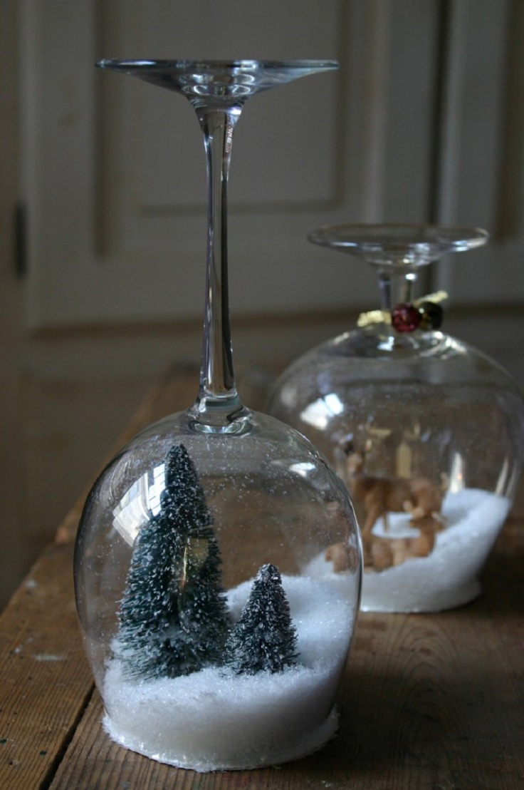 Glass decorations - Top 10 Diy Decorations For Your Wine Glass