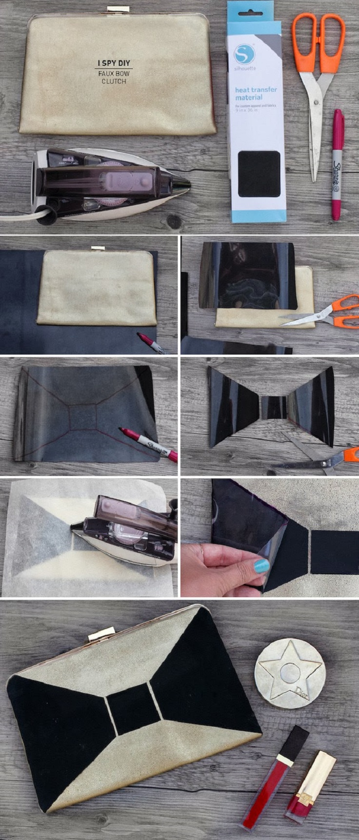 Top 10 Ways to Modify The Old and Make New Handbag Clutch