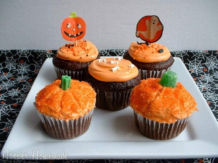 Top 10 DIY Cupcake Fall Decorations - Top Inspired