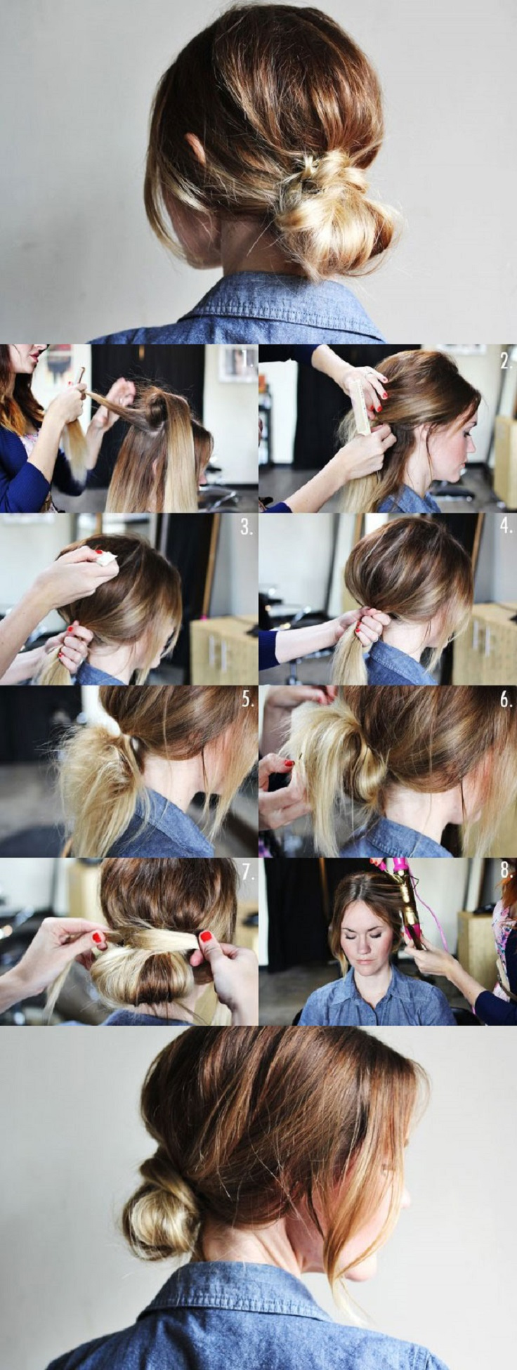 low-bun-tutorial