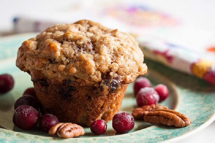 Apple Cranberry Oatmeal Muffins Recipes — Dishmaps