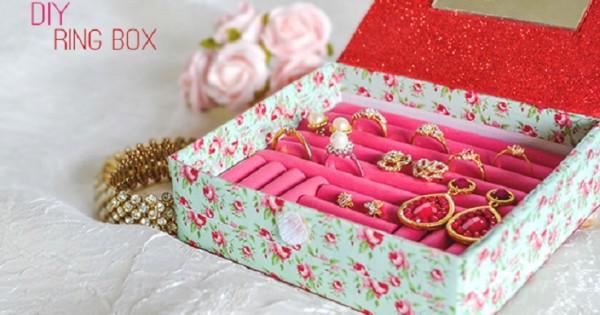 Top 10 DIY Jewelry Box Ideas