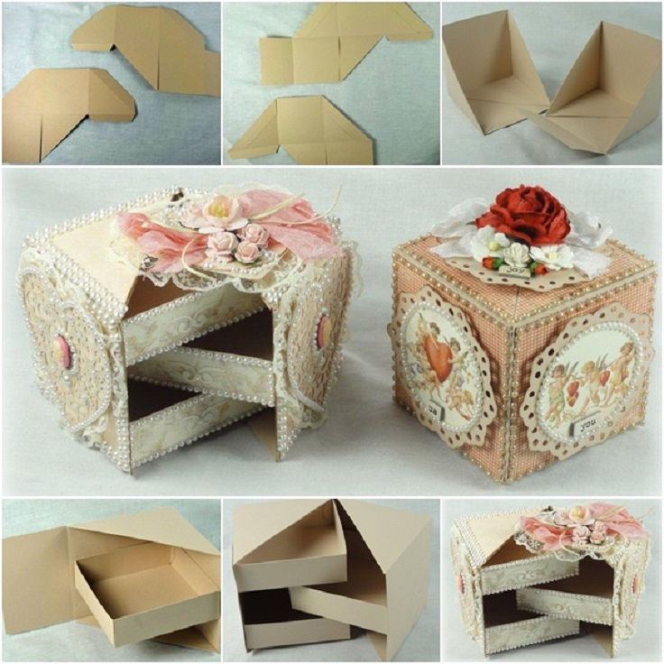 top 10 diy jewelry box ideas top inspired