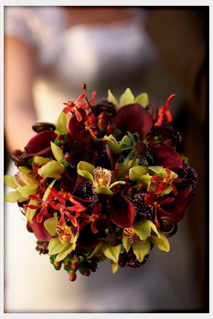 flowers for fall wedding top 10 fall wedding accessories and decoration ideas top 4265