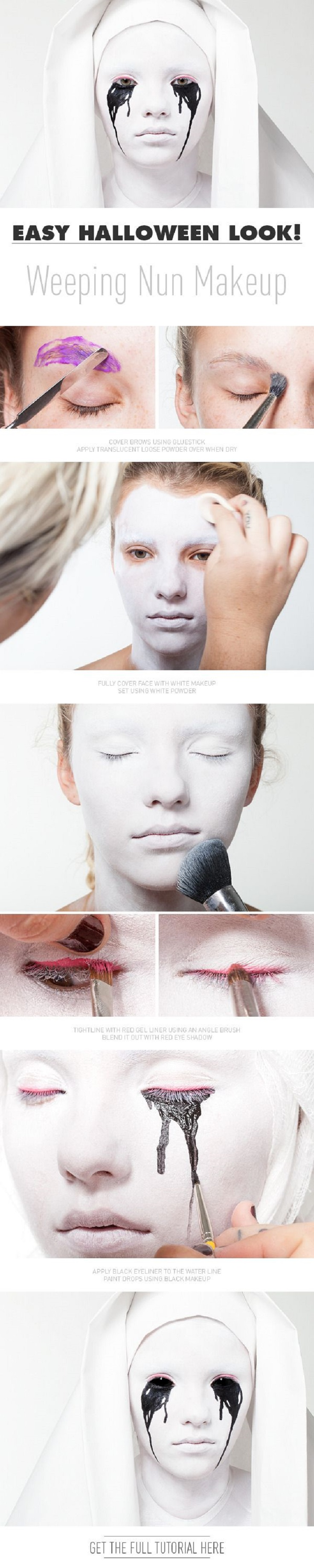 Top 10 Last Minute Makeup Tutorials For Halloween