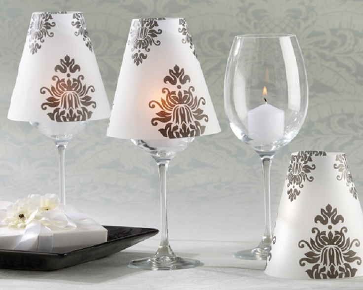Top diy decorations for your wine glass inspired