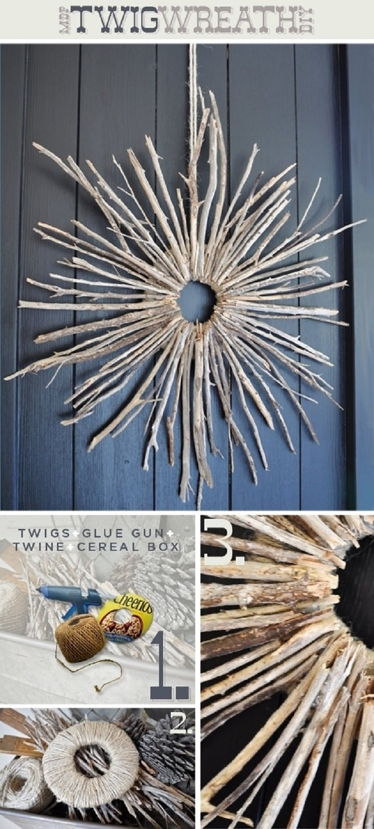 Top 10 diy home decorations for fall top inspired for Diy twig decor
