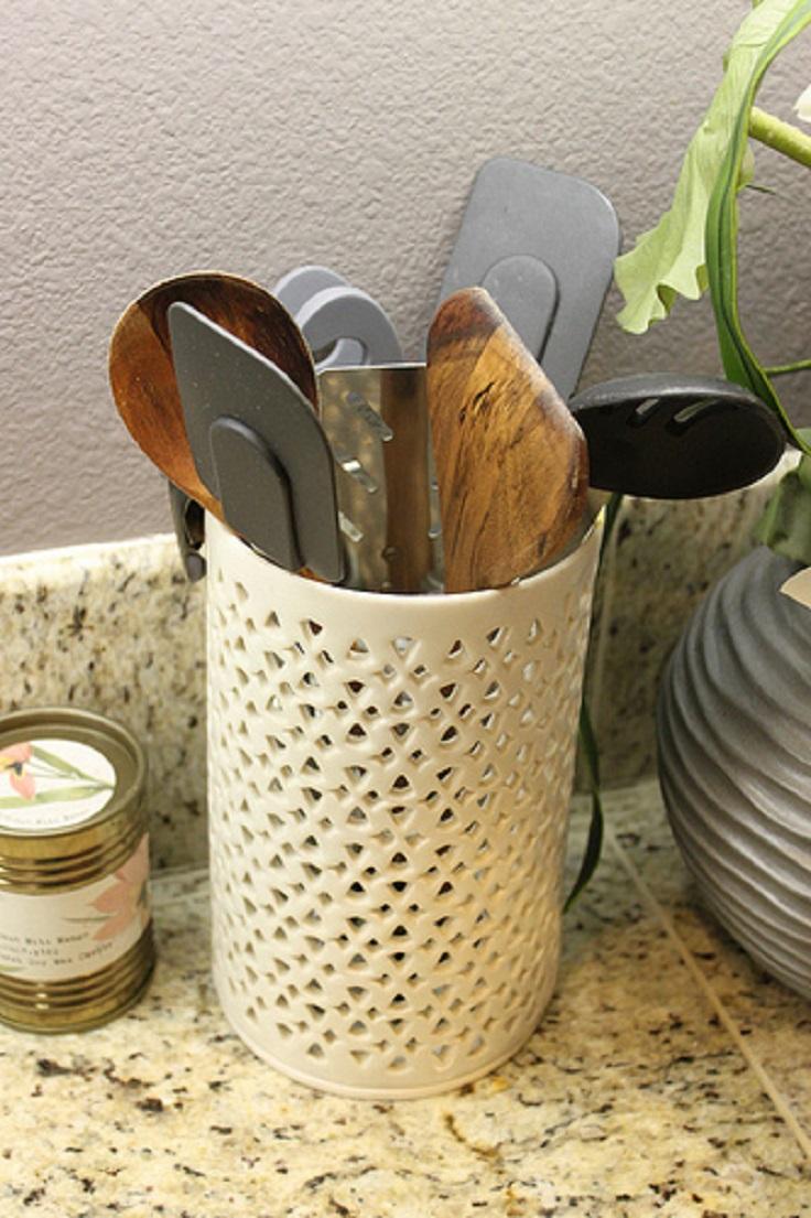 top 10 best diy kitchen utensil holders - top inspired