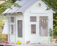 Amazing Kids Playhouse Built from an Old Backyard Shed